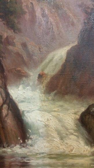 H D Gremke, artist, oil painting, 2